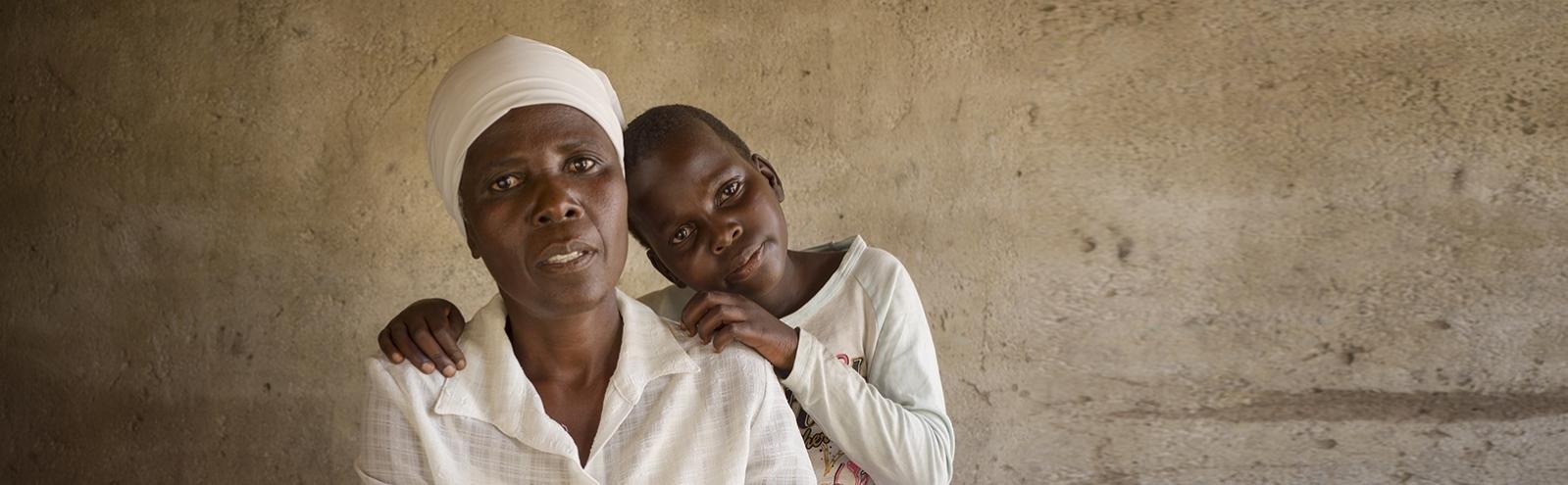 Help vrouwen en meisjes met hiv en aids